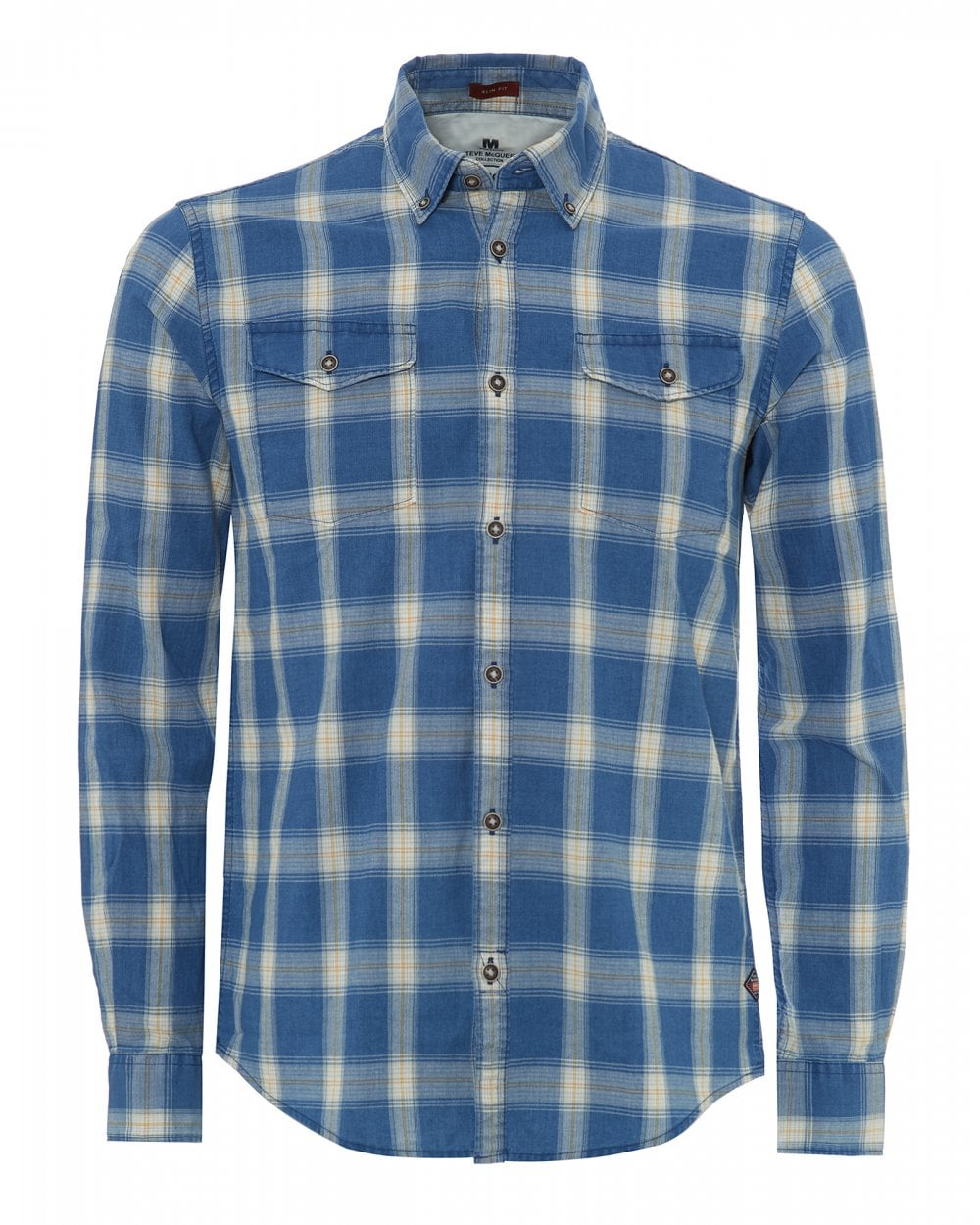 051fcf7a14 Barbour International Mens Steve McQueen Holman Check Shirt
