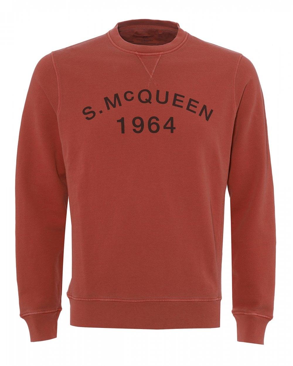 7ed41464b67d Mens Vintage Steve McQueen Sweatshirt