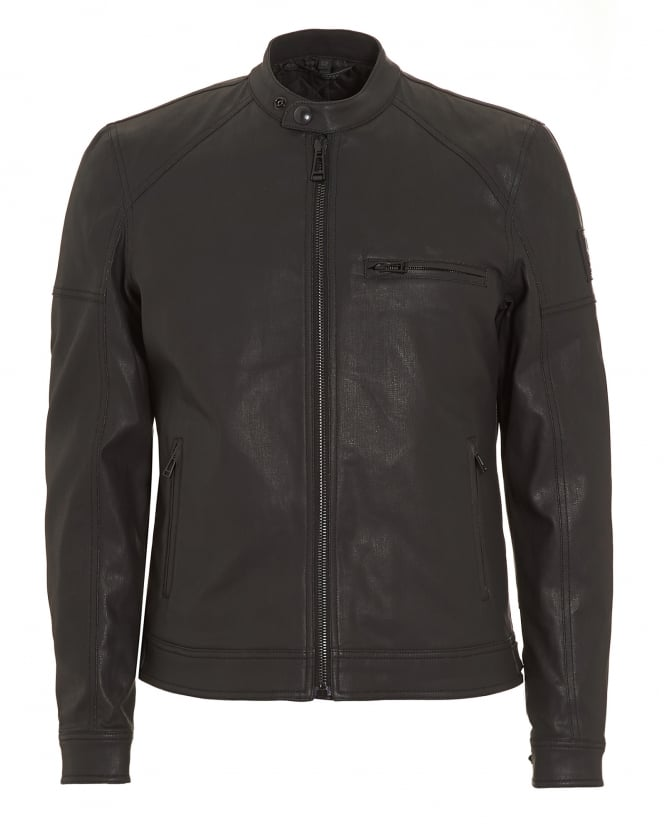 Belstaff Mens Beckford Black Jacket