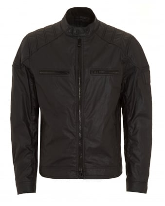 Mens Linford Black Blouson Jacket