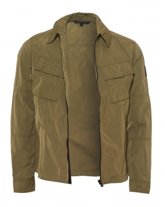 Mens Talbrook Overshirt, Water Repellent Slate Green Jacket