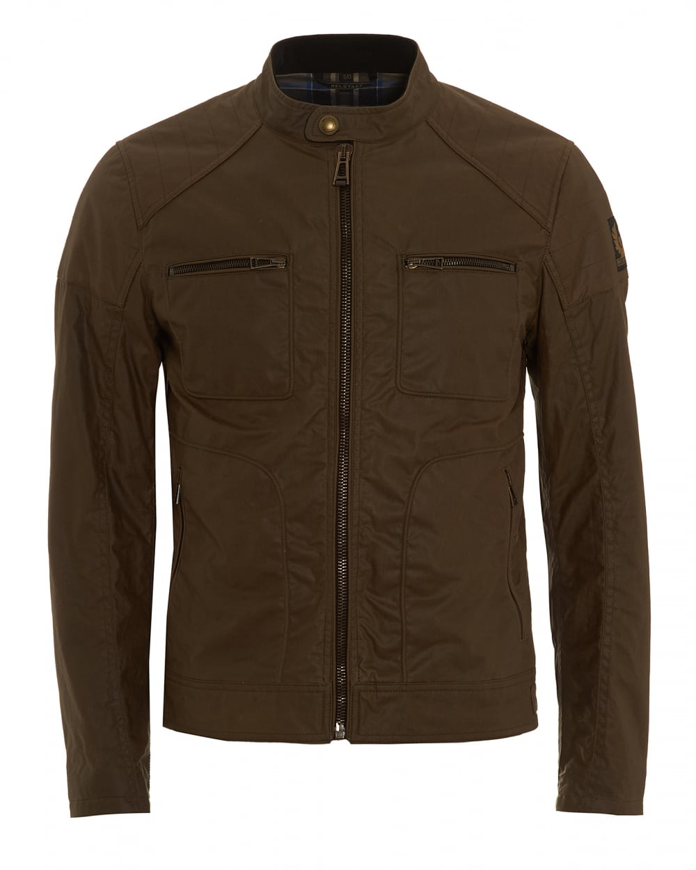 belstaff mens weybridge jacket wax cotton windsor moss jacket. Black Bedroom Furniture Sets. Home Design Ideas