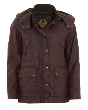Womens New Tourmaster Rosewood Waxed Jacket