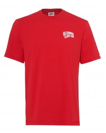 Mens Arch Logo T-Shirt, Basic Red Tee