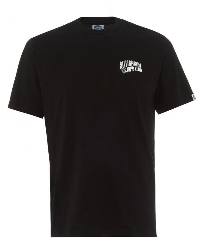 Billionaire Boys Club Mens Arch Logo T-Shirt, Black Regular Fit Tee