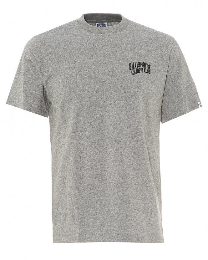 Billionaire Boys Club Mens Arch Logo T-Shirt, Grey Regular Fit Tee