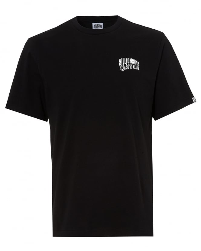 Billionaire Boys Club Mens Basic Logo T-Shirt, Short Sleeve Black Tee