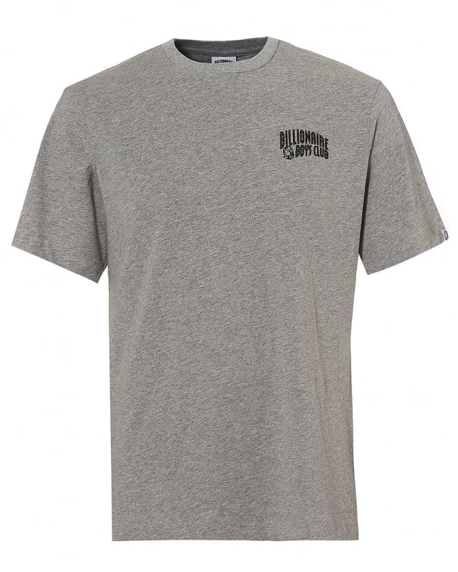 Billionaire Boys Club Mens Basic Logo T-Shirt, Short Sleeve Heather Grey Tee