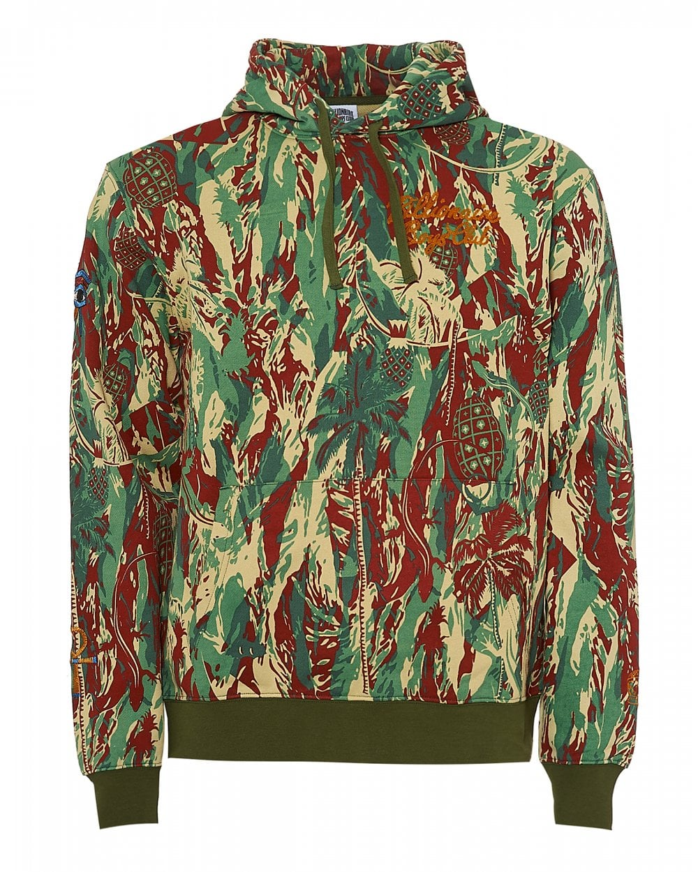 80289408 Mens Egypt Souvenir Hoodie, Camo Print Hooded Sweatshirt