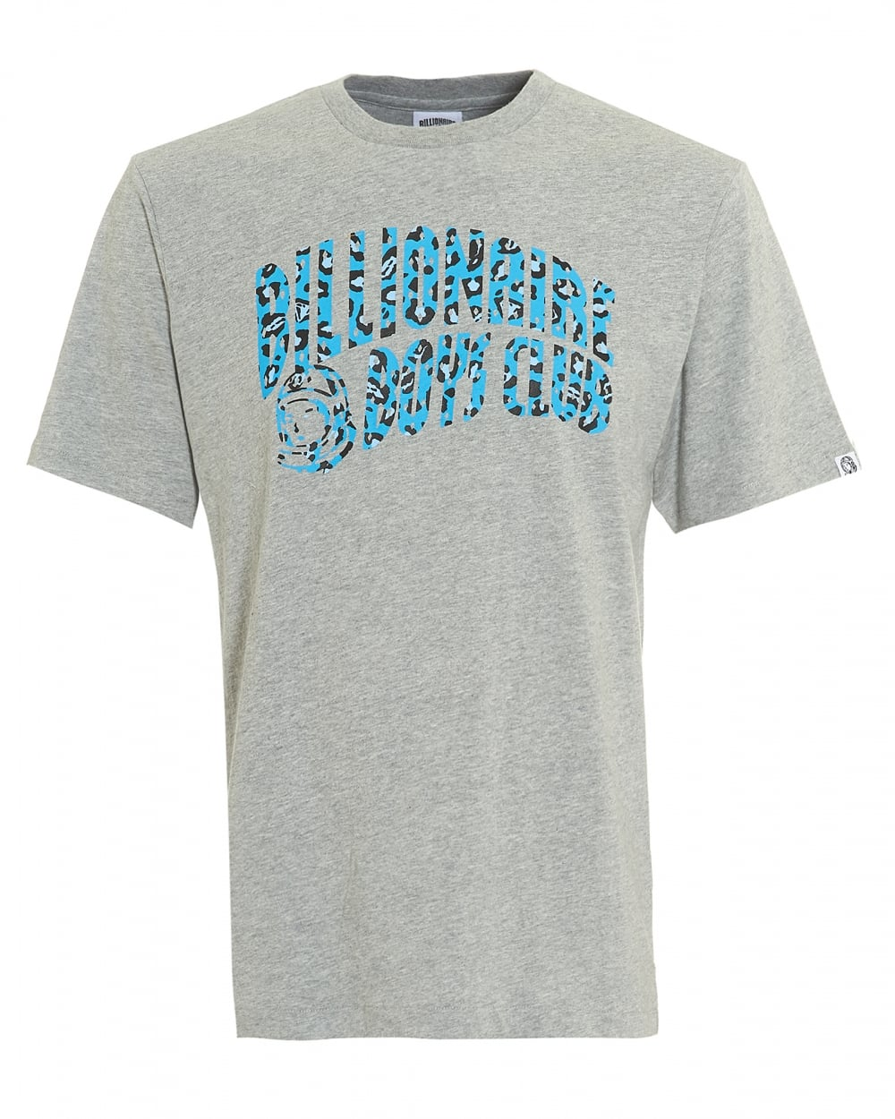 Billionaire Boys Club Mens Leopard Arch Logo T Shirt