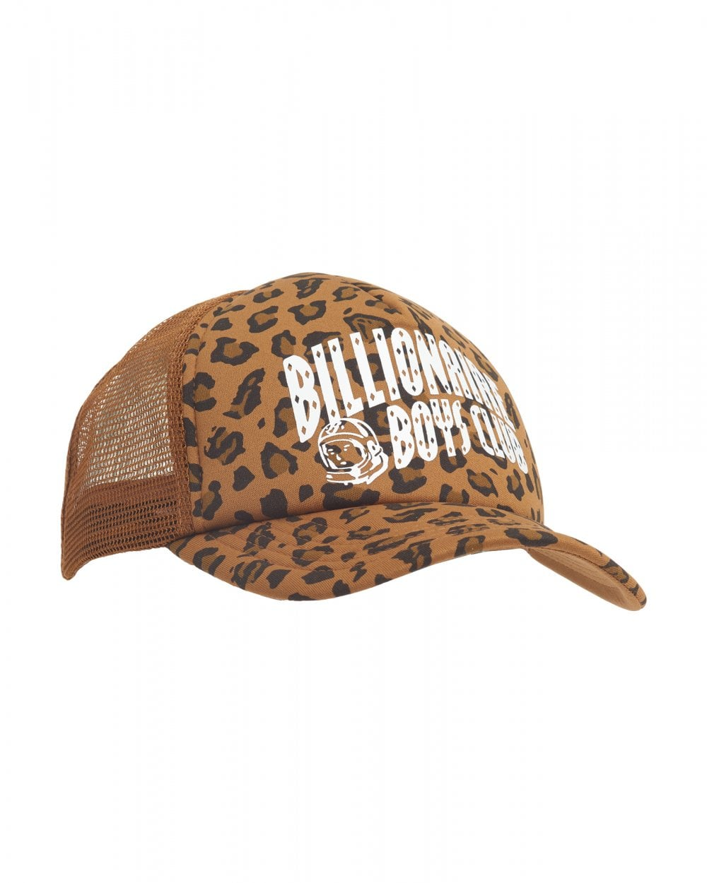 4dc61f53786 Billionaire Boys Club Mens Leopard Print Trucker Cap