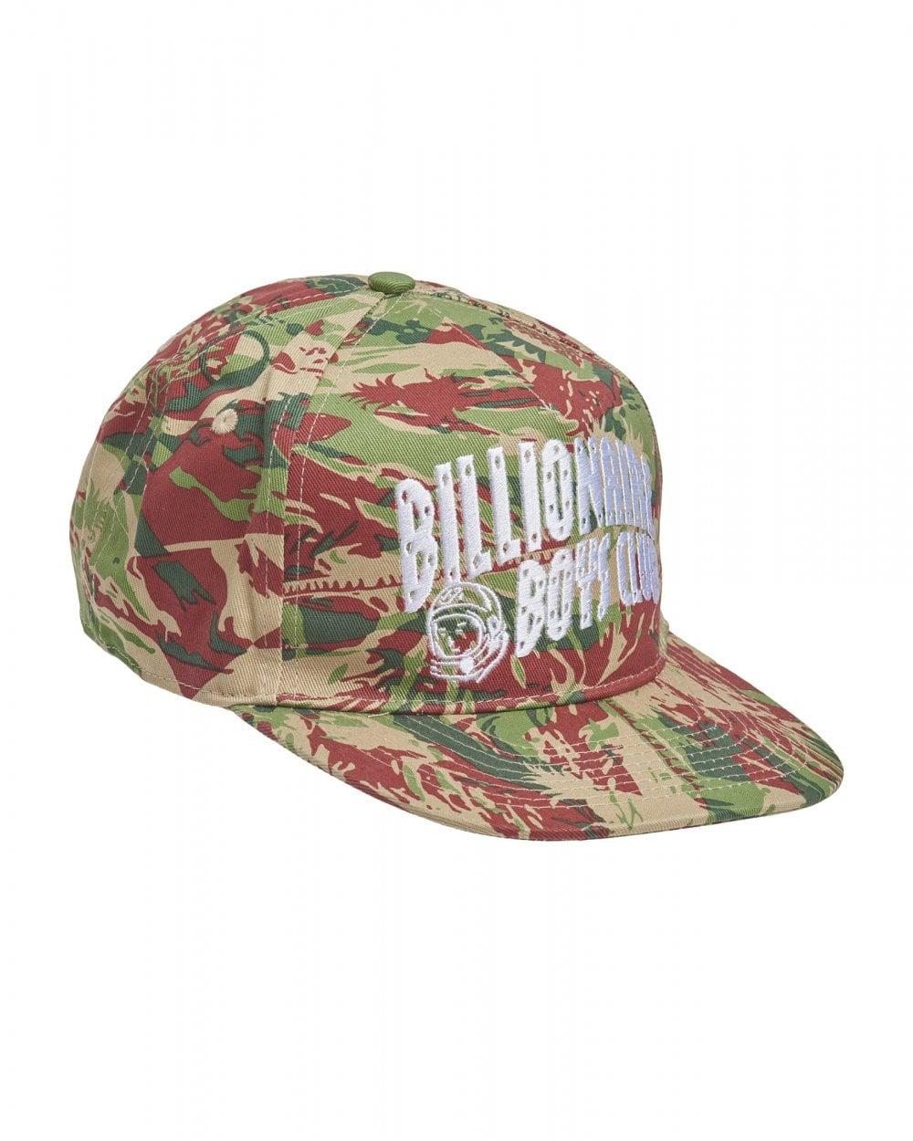 5b14bdf85 Billionaire Boys Club Mens Lizard Camo Print Snapback Cap, Logo Hat