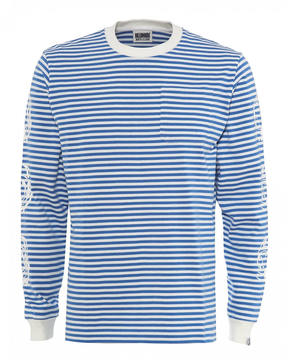 c81bbaacc Billionaire Boys Club Mens Long Sleeved Striped T-Shirt, Astronaut Tee
