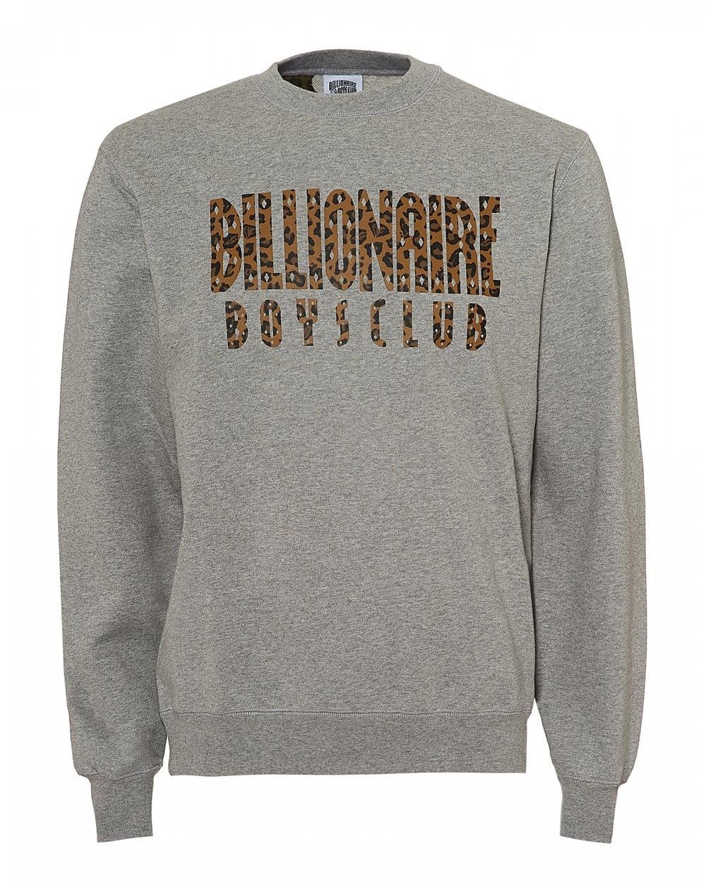 94b39746 Billionaire Boys Club Mens Reversible Sweatshirt, Camo Grey Sweat