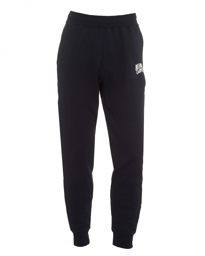 Billionaire Boys Club Mens Small Arch Logo Trackpants, Cuffed Navy Sweatpants