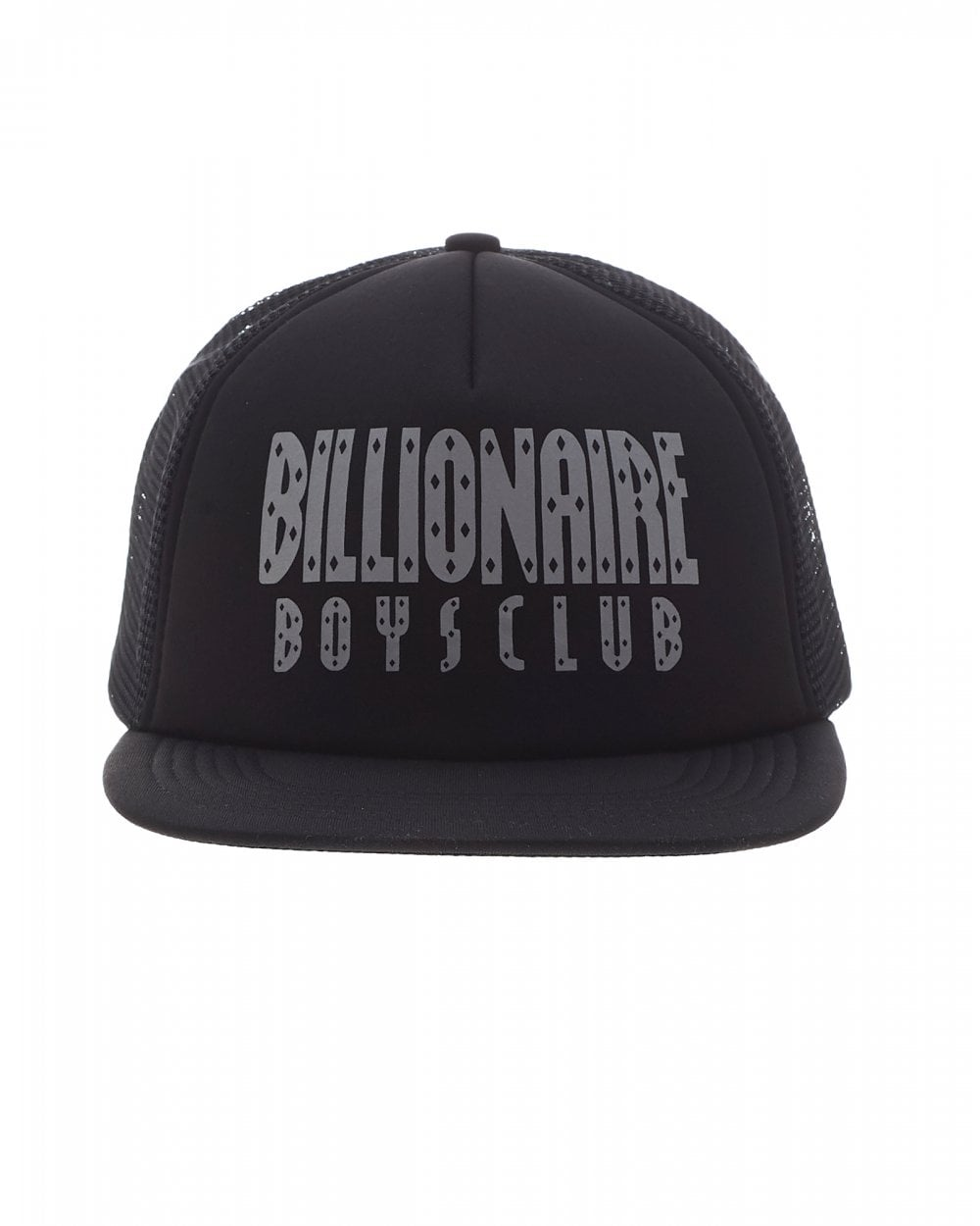 Billionaire Boys Club Mens Straight Logo Black Trucker Cap 7210f6012ab2