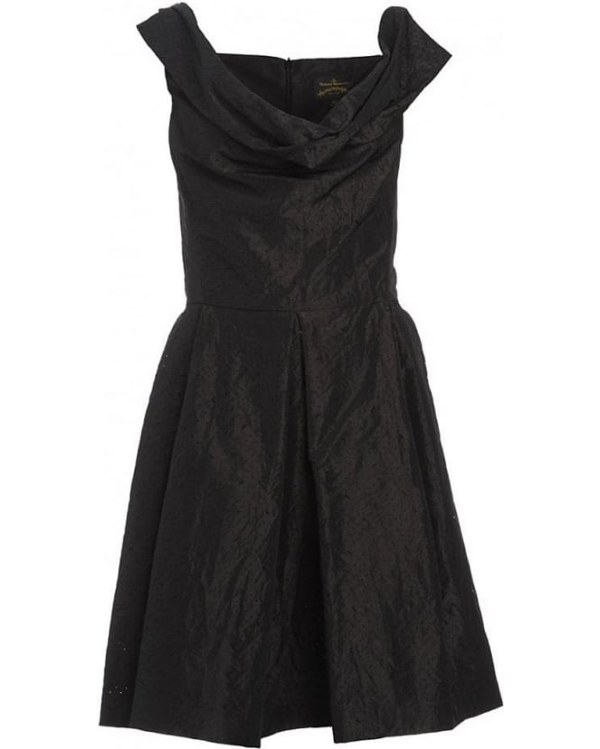 Vivienne Westwood Anglomania Black 'Halton' Sleeveless Dress