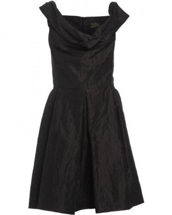 Black 'Halton' Sleeveless Dress