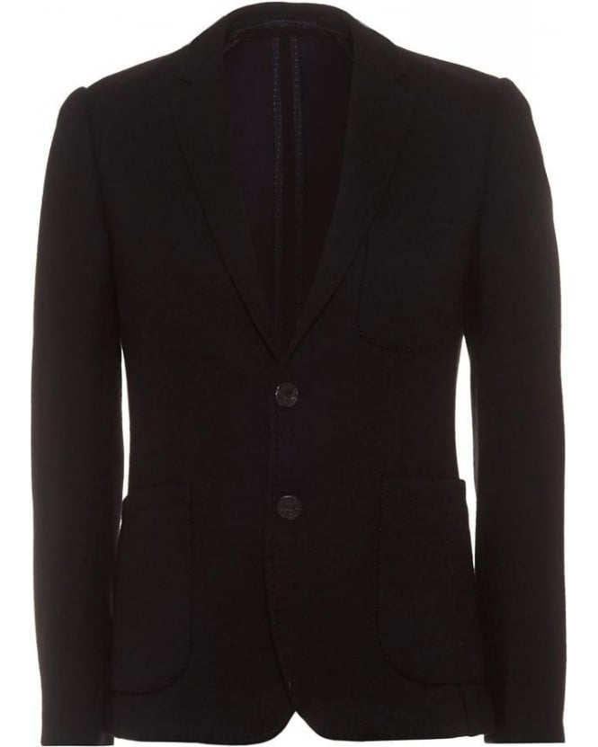 Holland Esquire Black Patch Pocket Blazer