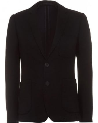 Black Patch Pocket Blazer
