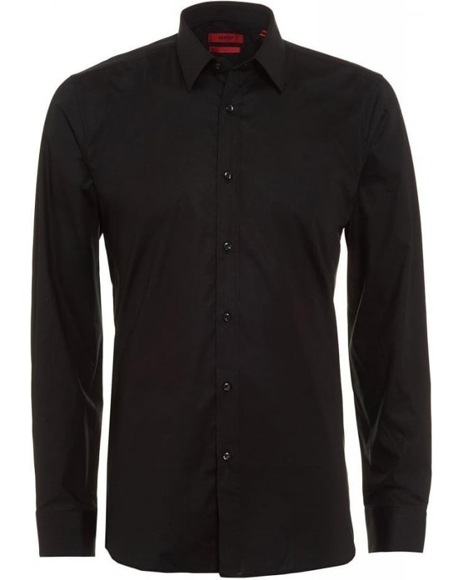 Hugo Boss - Hugo Black Shirt Slim Fit Cotton Elisha01 Shirt