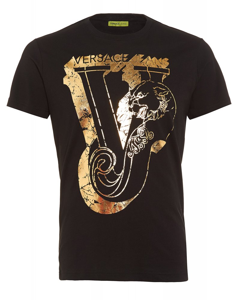 Black t shirt gold print south park t shirts for T shirt graphic printing