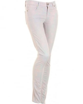 Blue Marble Effect Verdugo Skinny 'Candy' Jeans