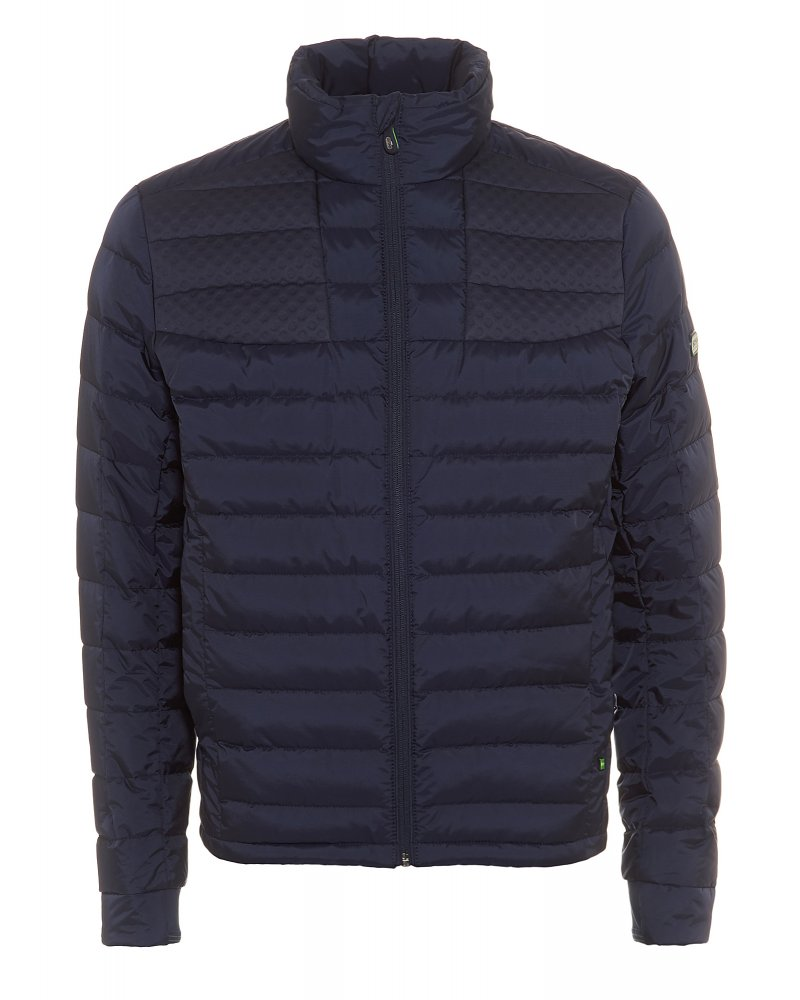 feed6d6d041 Hugo Boss Green Jacket Jurado Dark Blue Puffa Outdoor Jacket