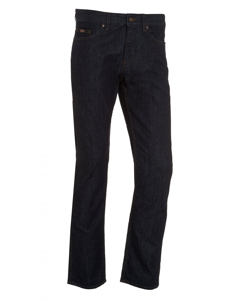 d64beb41 Hugo Boss Green Mens C-Delaware1 Jean, Slim Fit Dark Indigo Jeans