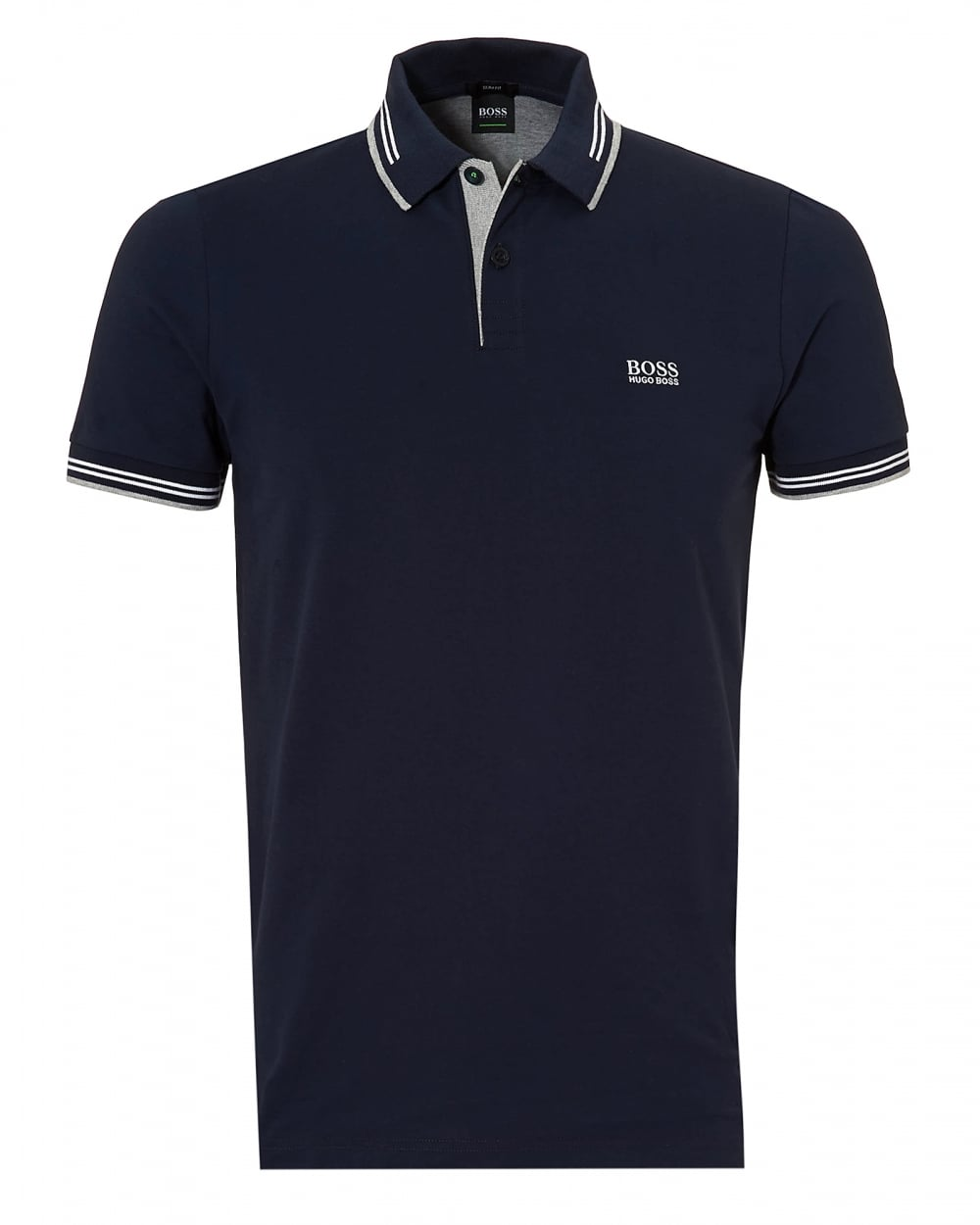BOSS ATHLEISURE PAUL SLIM FIT - Polo - bright blue