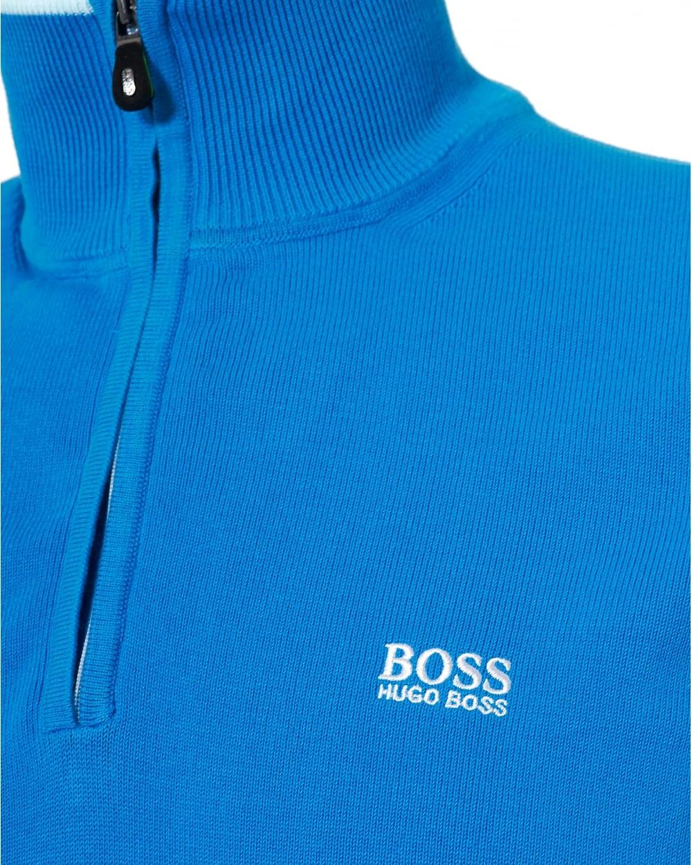 820421c675bf Hugo Boss Green Mens Zime Jumper