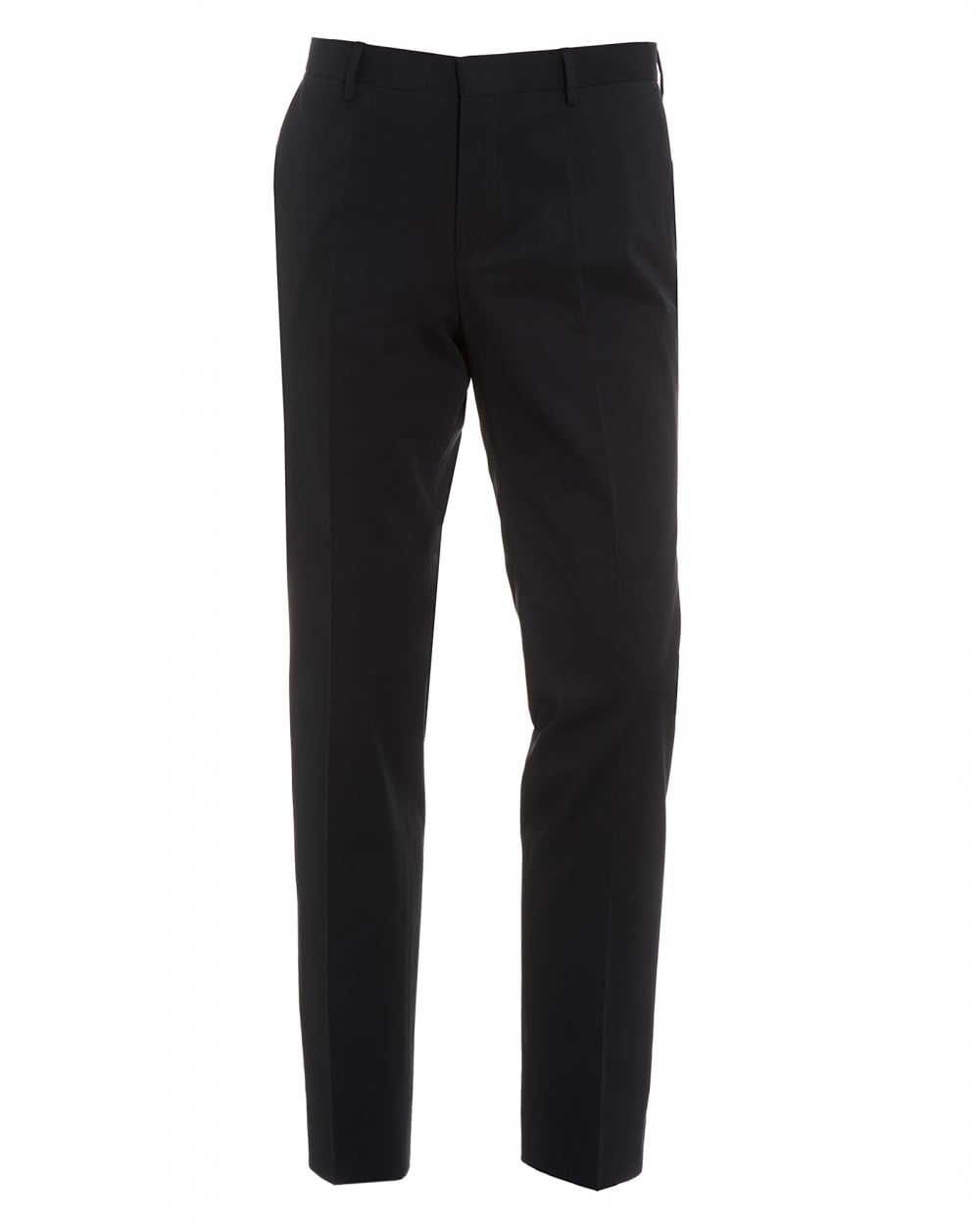 Slim-fit trousers in faux leather BOSS wdz0t5M0o
