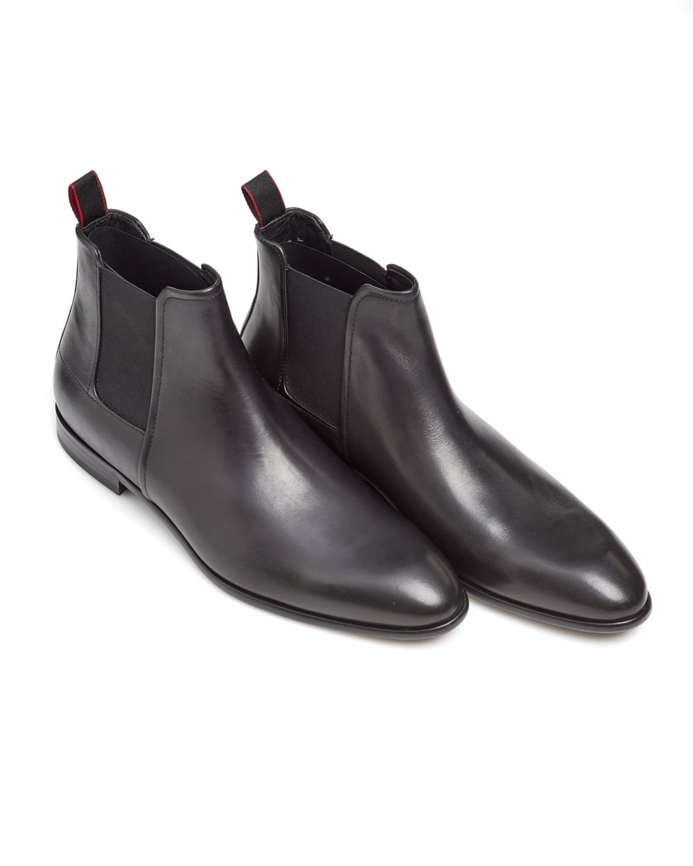 Professional For Sale Get New Formal Chelsea boots in rich leather HUGO BOSS Discount Purchase Low Cost Cheap Price ByhrSyQu