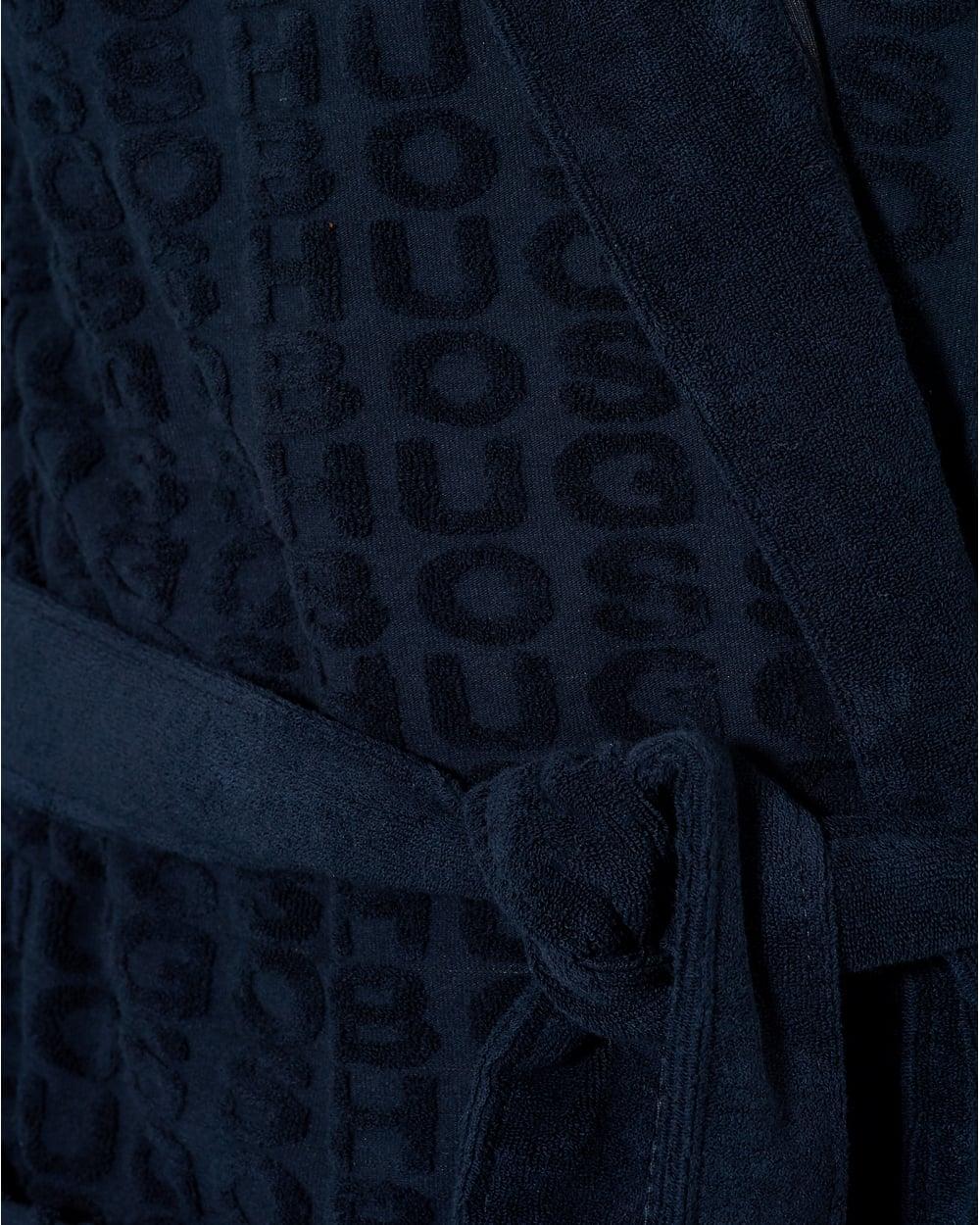 Hugo Boss Black Mens Hooded Robe 0b67d7e5e