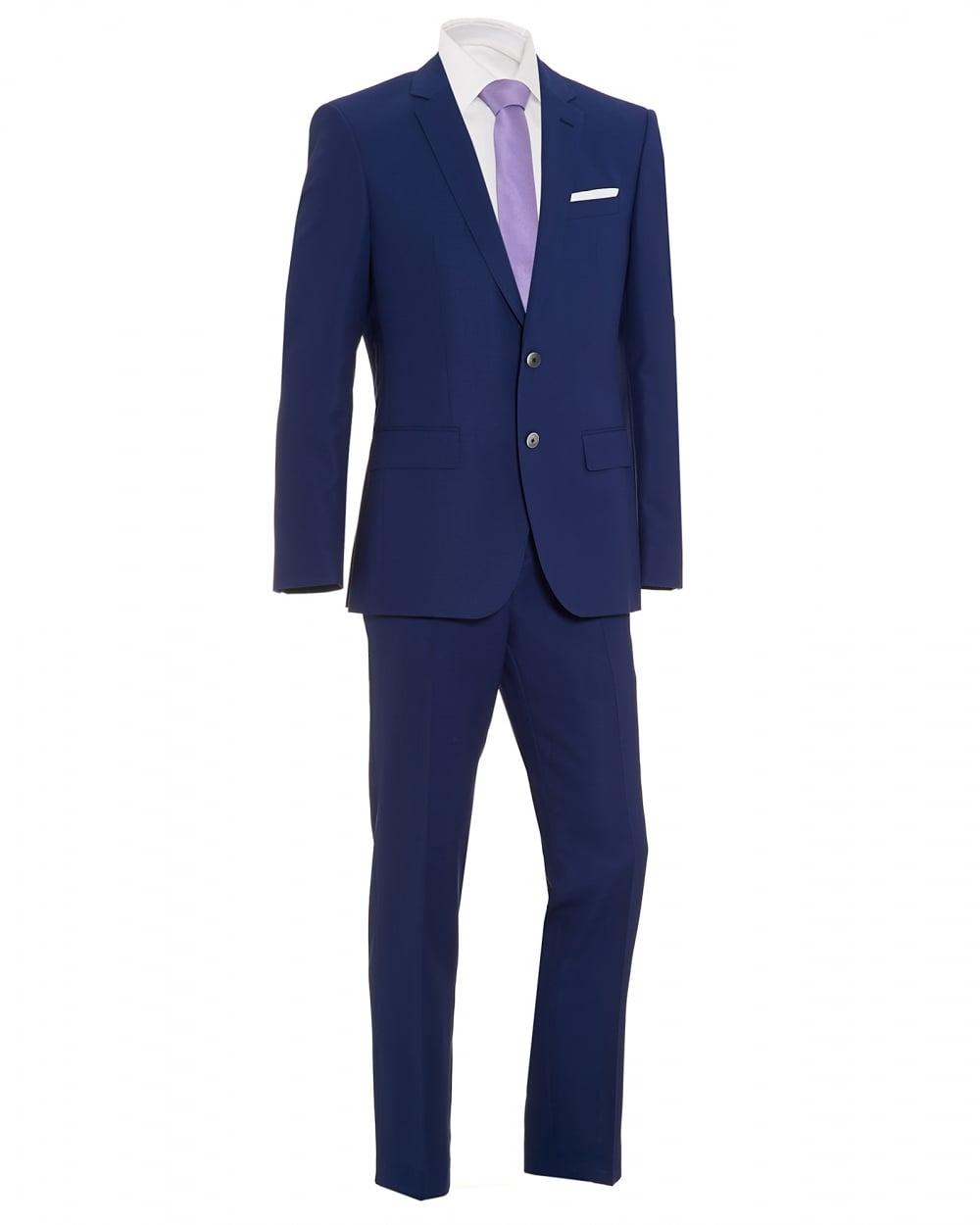 ea62fb966 Hugo Boss Classic Mens Hutson2/Gander1 Navy Blue Slim Fit Suit