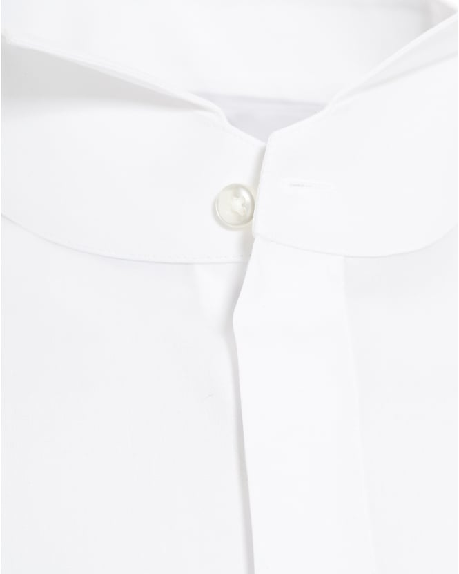 d32538bf0 ... Hugo Boss Black Mens Jillik Slim Fit White Dress Shirt