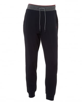 Mens Long Pant CW Cuffs Trackpants, Navy Blue Sweatpants