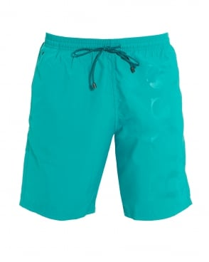 7a516c3e2b Hugo Boss Body Mens Lobster Short Aqua Blue Swim Shorts