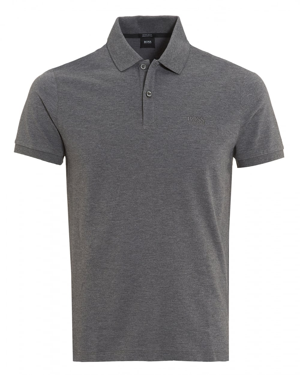 3fa844df89ba7 ... coupon code for mens pallas polo shirt regular fit plain light grey  logo polo 87214 fe6d7