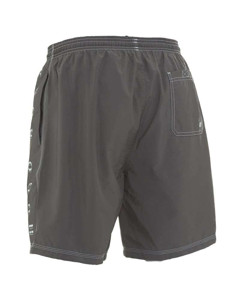 440c954f122c8 Hugo Boss Black Swimwear, Grey Logo Killifish Swim Shorts