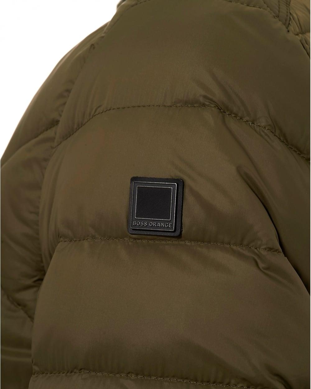 1295da4ffb1b5 Hugo Boss Orange Mens Obaron Puffa Jacket