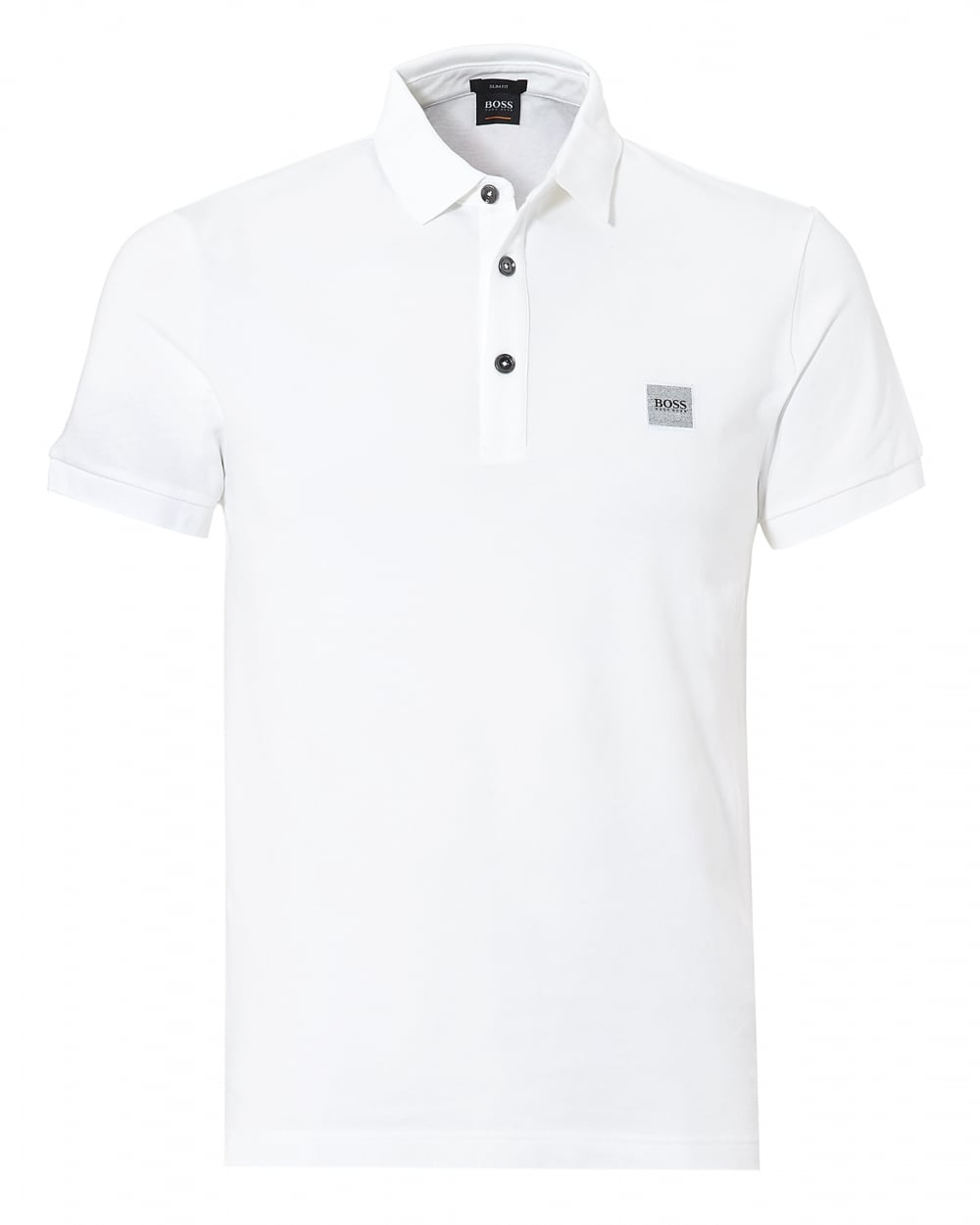 hugo boss orange mens passenger polo white short sleeve. Black Bedroom Furniture Sets. Home Design Ideas