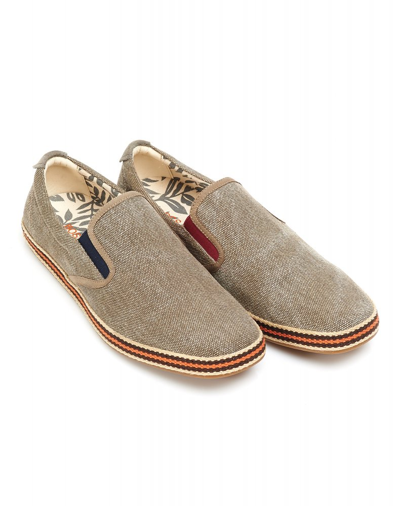 e7f8e93eb26 Hugo Boss Orange Shoes Beige Canvas  Strikat  Espadrilles