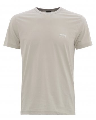 081c2a9c Mens Curved Logo T-Shirt, Light Beige Tee New In · BOSS ...