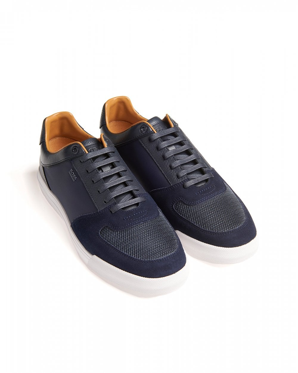 BOSS Mens Low-Top Cosmo_Tenn Trainers