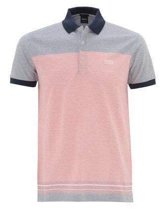 f1c3c153d129 Mens Paddy 4 Colour Block Polo Shirt