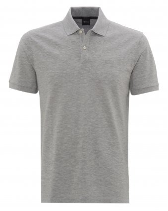 d49e914ec Mens Pallas Polo, Regular Fit Plain Grey Polo Shirt