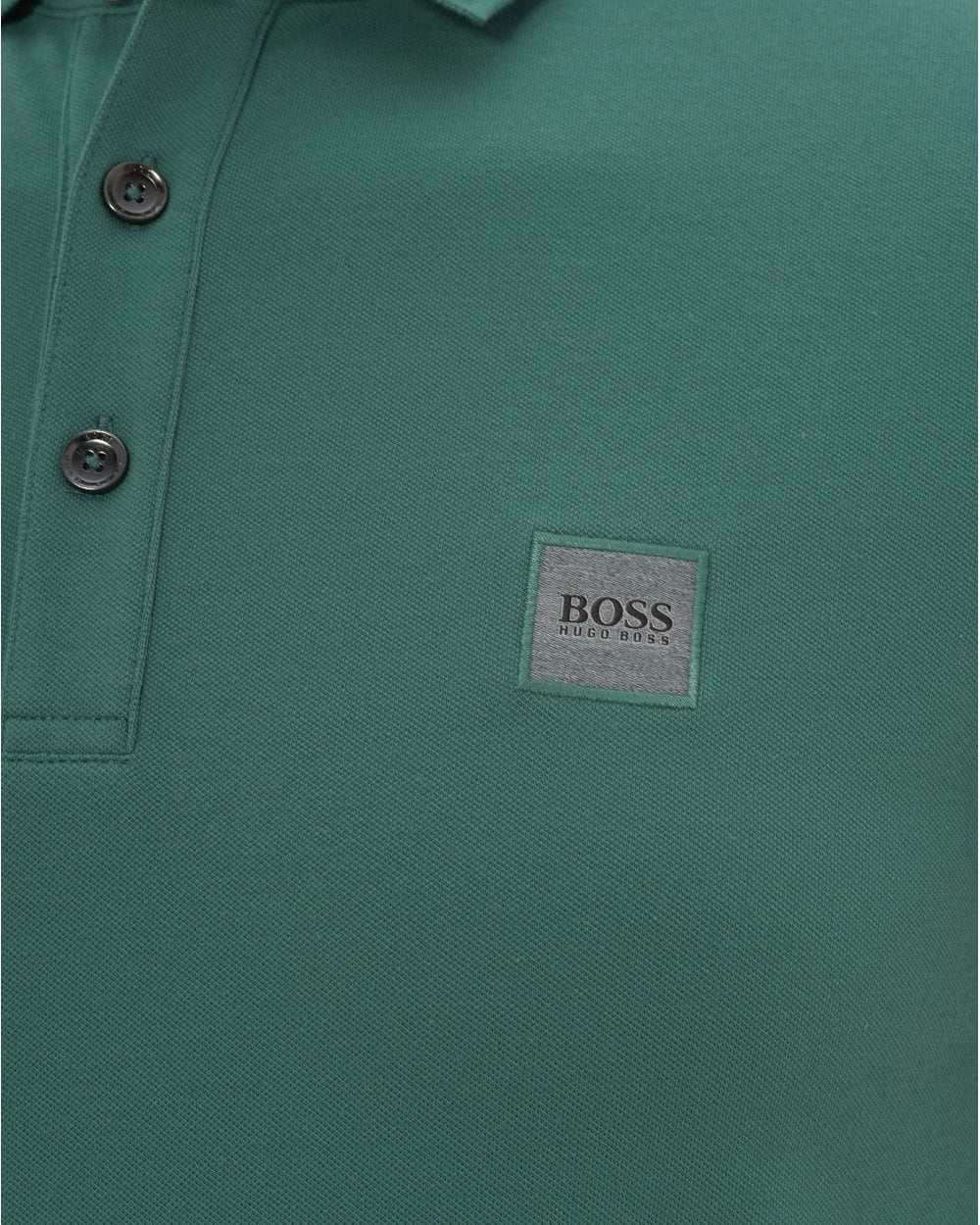 1e8afd8b3 BOSS Mens Passenger Slim Fit Polo, Green Polo Shirt