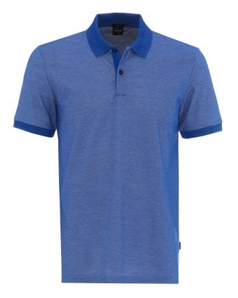 505e9d26dad Mens Philipson Cobalt Blue Slim Fit Polo Shirt Pre Fall · BOSS ...