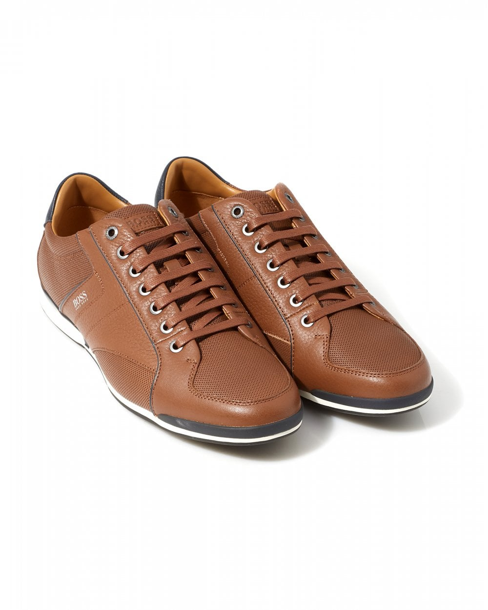 BOSS Mens Saturn_Low Grained Leather